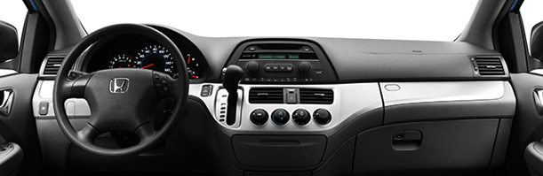 Honda Odyssey interior accessories image of dashboard
