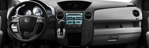 Honda Pilot interior accessories image of dashboard